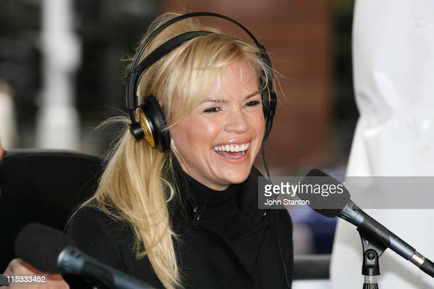 Sonia Kruger during The Shebang with Fi Fi and Marty April 26 2007 at Martin Place in Sydney NSW Australia