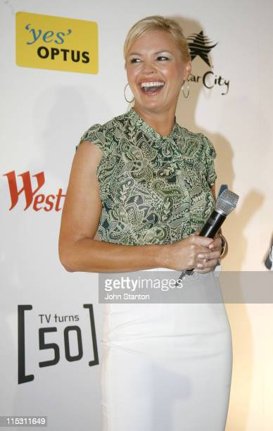 Sonia Kruger during TV Turns 50 Photo Call in Sydney at Star City in Sydney NSW Australia