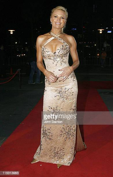 Sonia Kruger during TV Turns 50 Red Carpet at Star City Sydney in Sydney NSW Australia