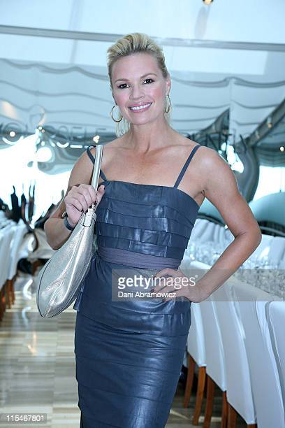 Sonia Kruger during Winter 2007 Fashion at Myer at The Restaurant The Domain in Sydney NSW Australia
