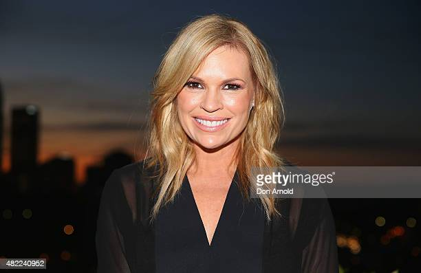 Sonia Kruger poses during the Voice Live Finals Show Launch on July 29 2015 in Sydney Australia