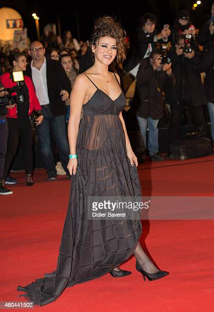 Sonia Lacen attends the16th NRJ Music Awards at Palais des Festivals on December 13 2014 in Cannes France