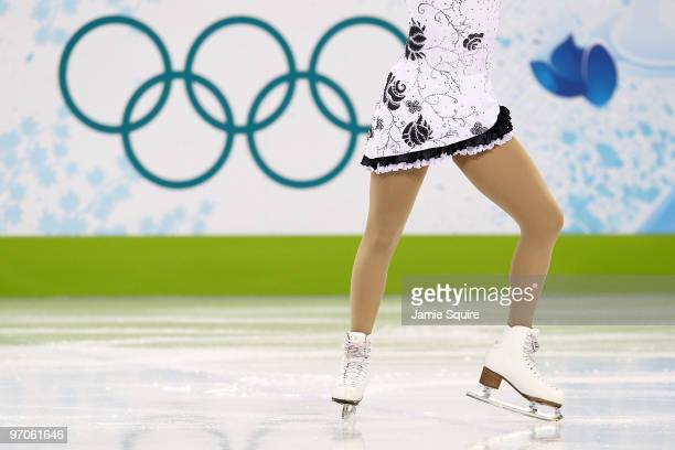 Sonia Lafuente of Spain competes in the Ladies Free Skating on day 14 of the 2010 Vancouver Winter Olympics at Pacific Coliseum on February 25, 2010...