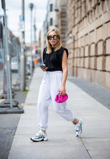 DEU: Street Style - Berlin - July 8, 2020