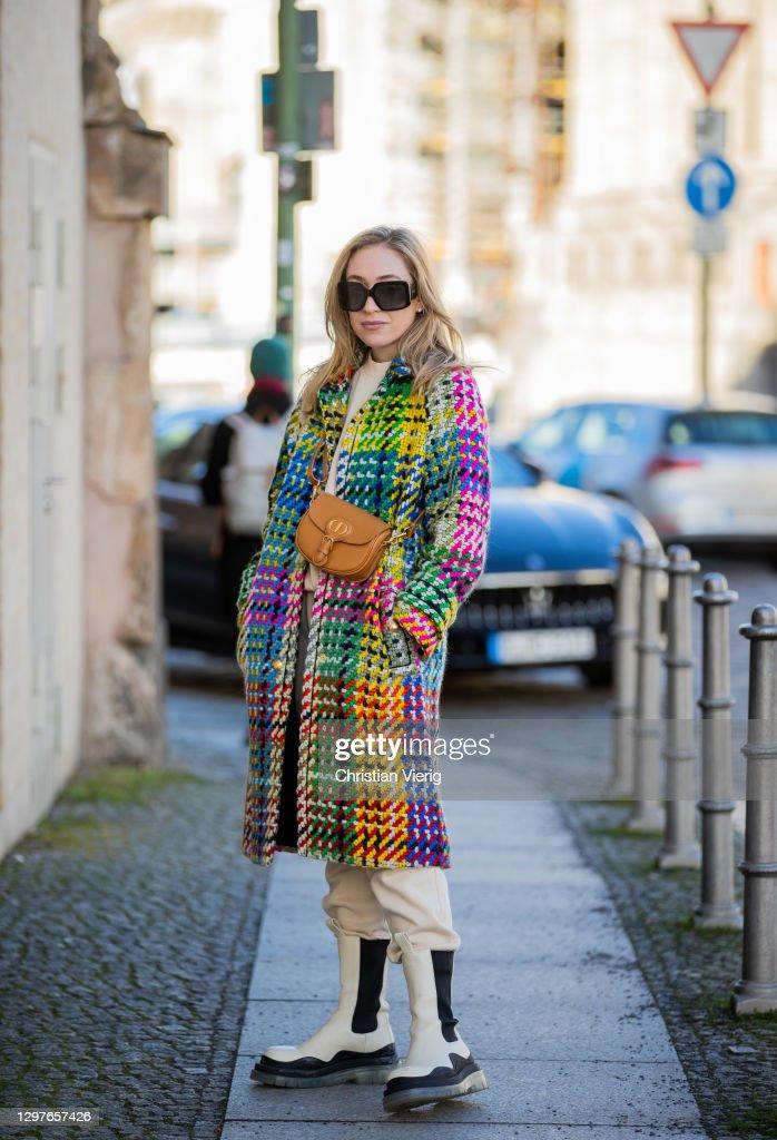 Street Style - Berlin - January 21, 2021 : News Photo