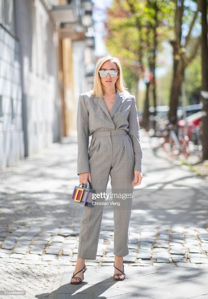 DEU: Street Style - Berlin - April 23, 2019