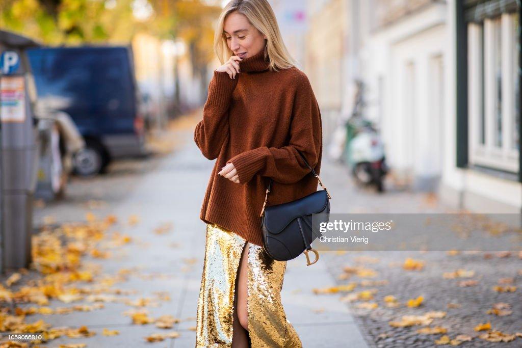 Street Style - Berlin - November 07, 2018 : Photo d'actualité