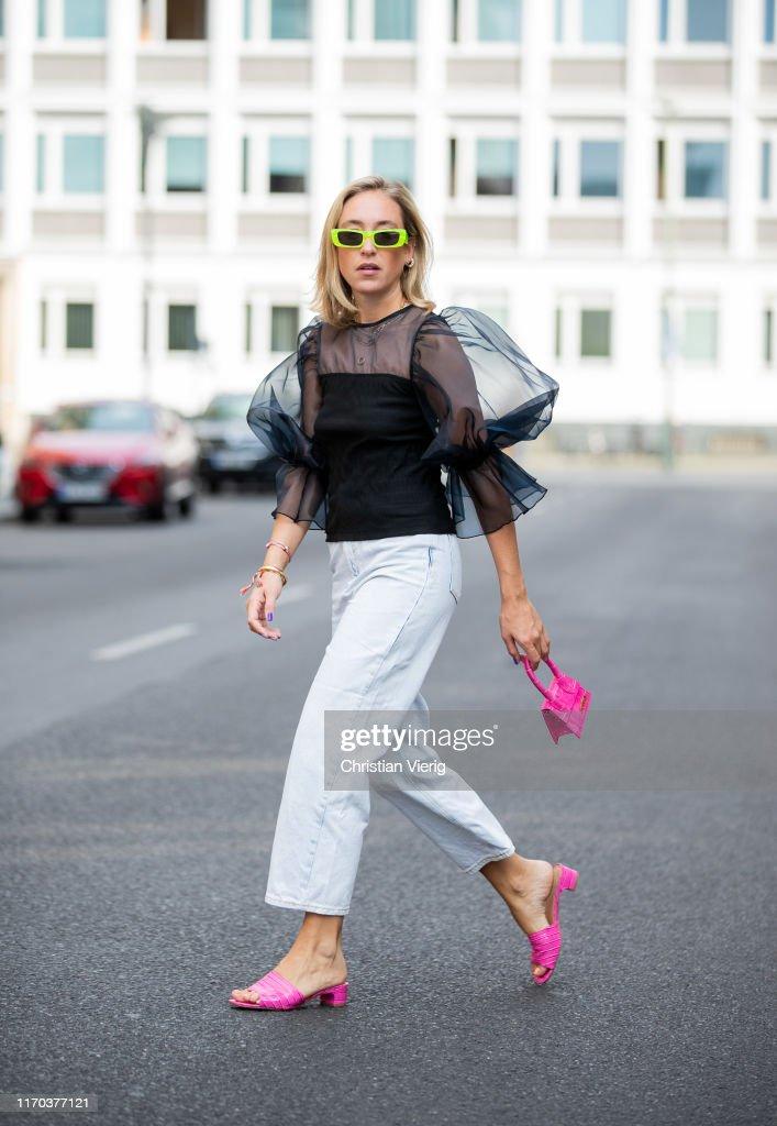Street Style - Berlin - August 26, 2019 : Photo d'actualité