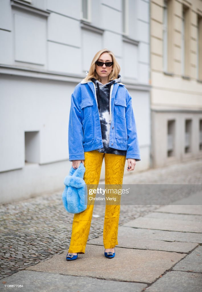 DEU: Street Style - Berlin - March 18, 2019