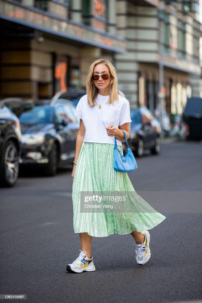 Street Style - Berlin - July 29, 2020 : News Photo