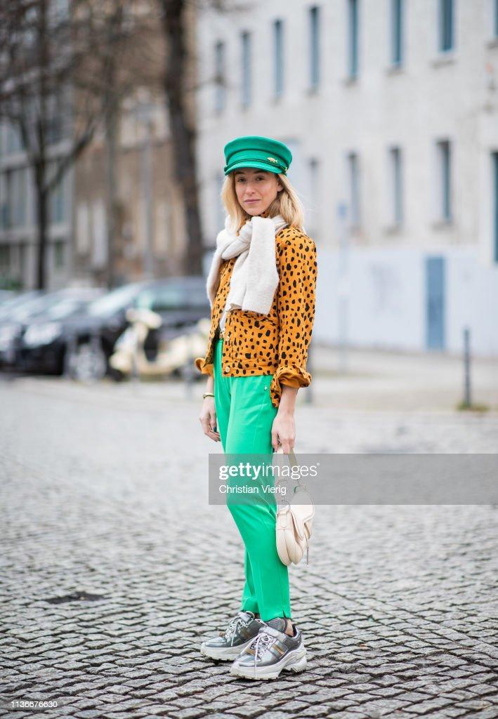 DEU: Street Style - Berlin - March 18, 2019