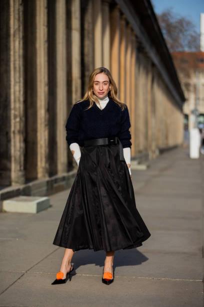 DEU: Street Style - Berlin - February 24, 2021