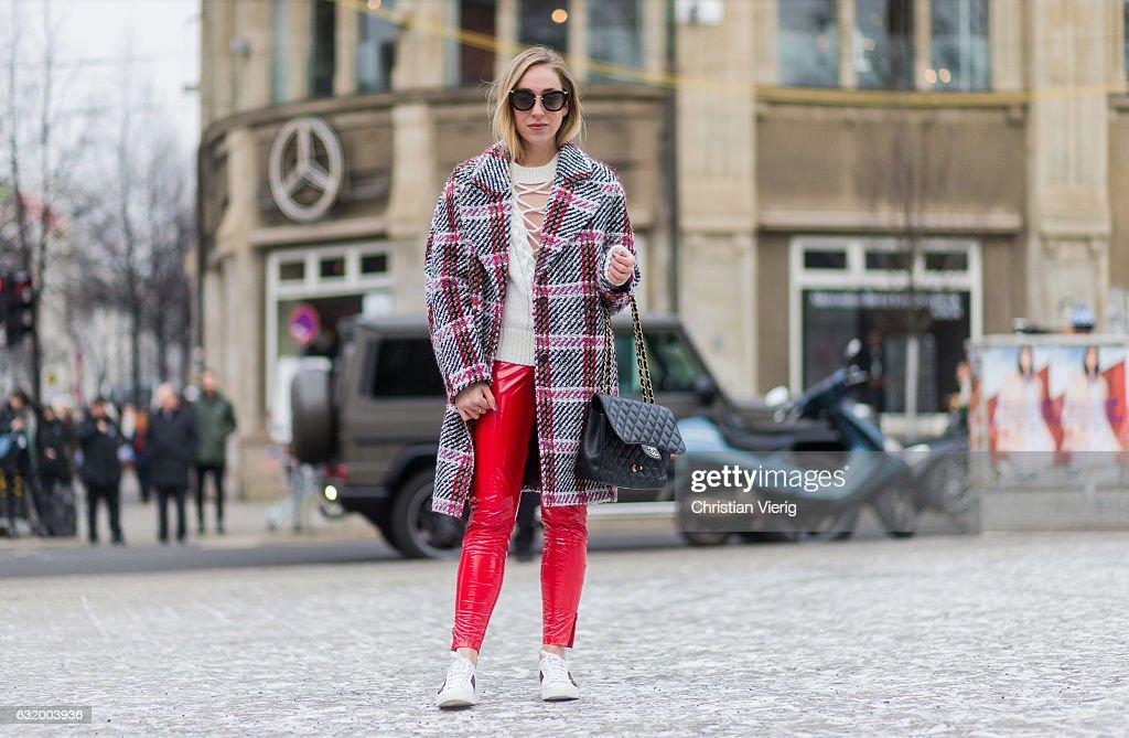Chanel Berlin style day 2 mercedes fashion week berlin a w 2017