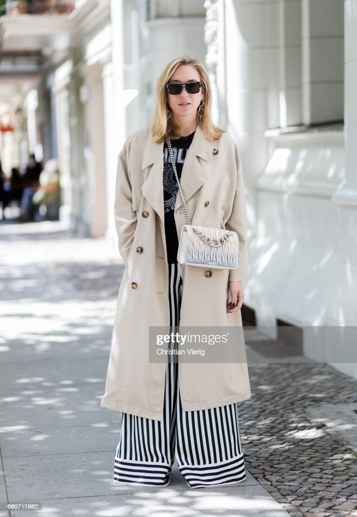 Street Style In Berlin - May 2017 : News Photo