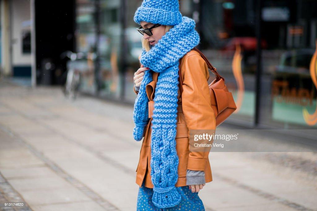 Street Style Day 3 - Copenhagen Fashion Week A/W 18 : Photo d'actualité