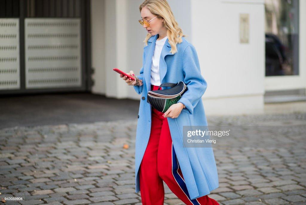 Street Style - Berlin - April 4, 2018 : News Photo