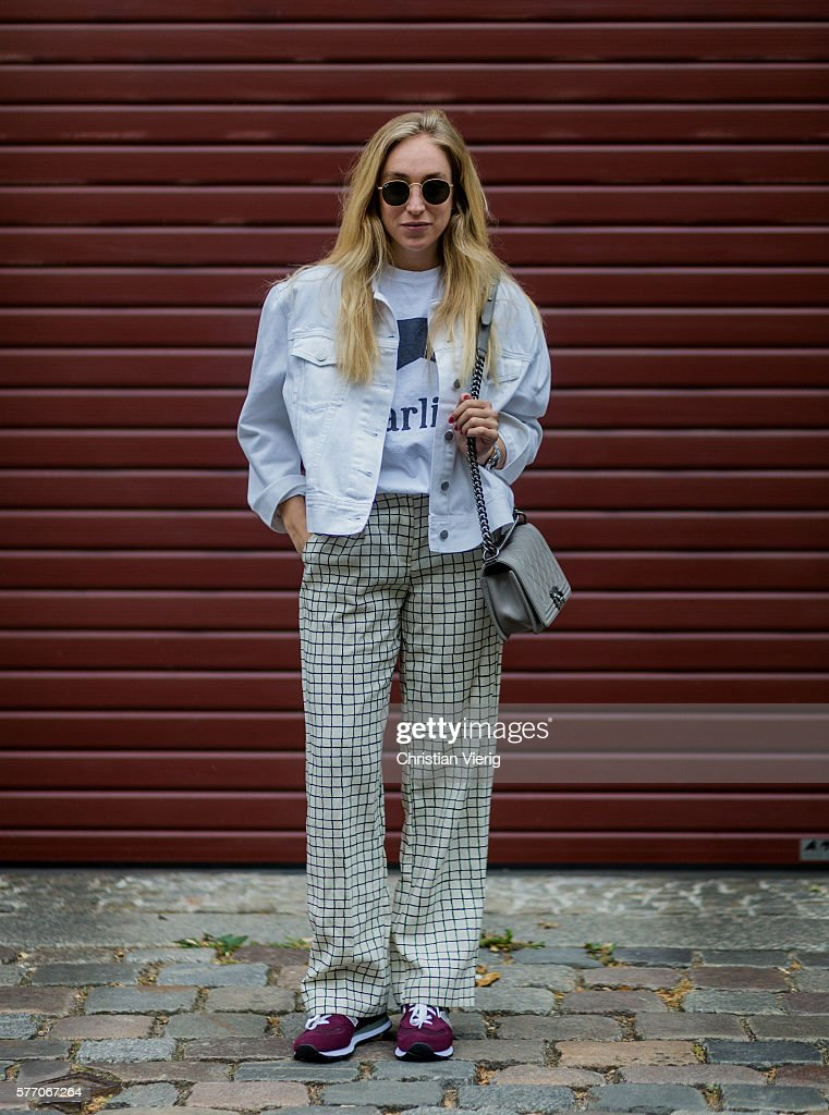 Street Style In Berlin - July, 2016 : News Photo