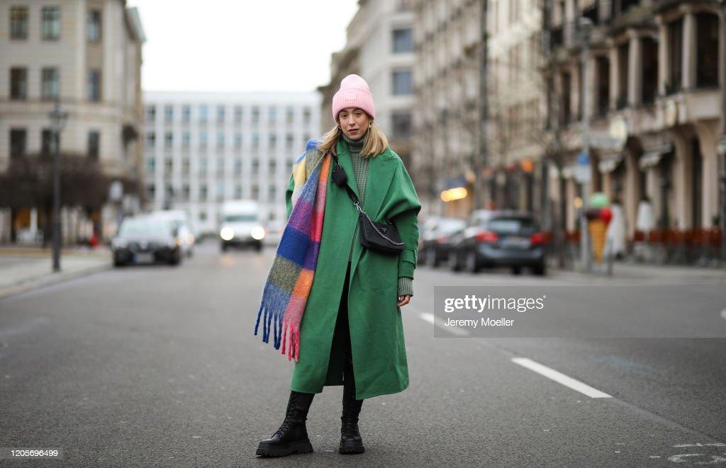 Street Style - Berlin - February 11, 2020 : News Photo