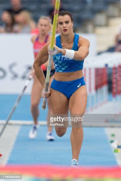 Sonia Malavisi during the European Athletics Team Championships Super League Bydgoszcz 2019 Day Two at Zawisza Stadium on August 10 2019 in Bydgoszcz...