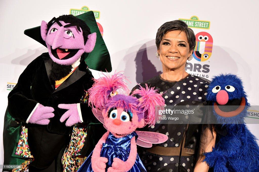 Sesame Workshop's 50th Anniversary Benefit Gala : News Photo