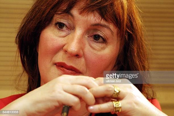Sonia Mikich Journalistin D Chefredakteurin des ARD PolitMagazins 'Monitor'