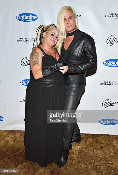 """Sonia Pizarro and Daniel DiCriscio attend CBS's """"Big Brother"""" 18 cast finally party at Clifton's Cafeteria on September 22, 2016 in Los Angeles,..."""