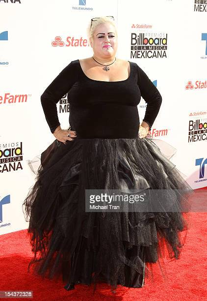 Sonia Pizarro arrives at the 2012 Billboard Mexican Music Awards held at The Shrine Auditorium on October 18, 2012 in Los Angeles, California.