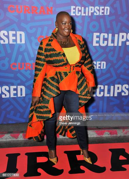 Sonia Renee Taylor attends the celebration of Women's History Month on it's Opening Night of Eclipsed at the Curran Theater on March 9 2017 in San...