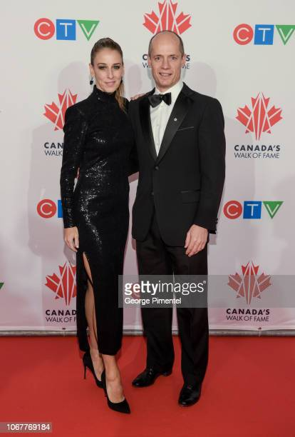 Sonia Rodriguez and Kurt Browning attends 2018 Canada's Walk Of Fame Awards held at Sony Centre for the Performing Arts on December 1 2018 in Toronto...