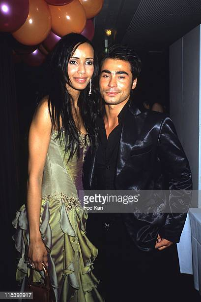 Sonia Rolland and Junior Queers during Little Cracks Charity Dinner Against Children Cancer at Maison Blanche in Paris France