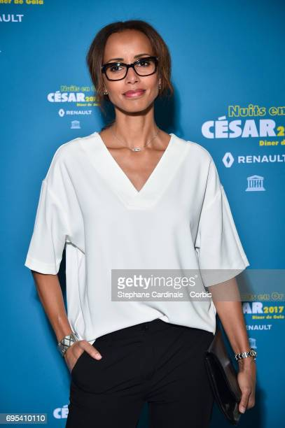 Sonia Rolland attends 'Les Nuits en Or 2017' Dinner Gala at Unesco on June 12 2017 in Paris France