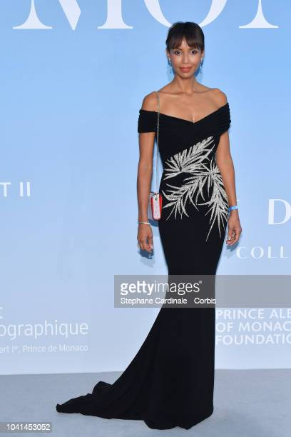 Sonia Rolland attends the MonteCarlo Gala for the Global Ocean 2018 on September 26 2018 in MonteCarlo Monaco