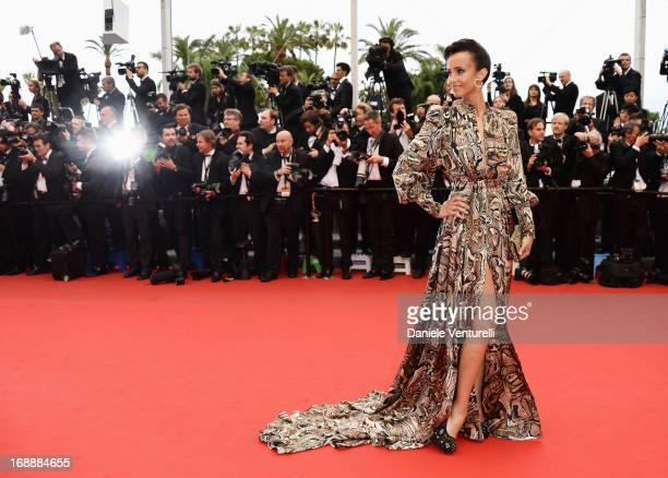 Sonia Rolland attends the Premiere of 'Jeune Jolie' at The 66th Annual Cannes Film Festival at Palais des Festivals on May 16 2013 in Cannes France