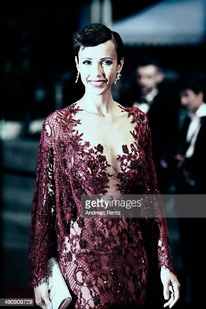 Sonia Rolland attends the Timbuktu premiere during the 67th Annual Cannes Film Festival on May 15 2014 in Cannes France