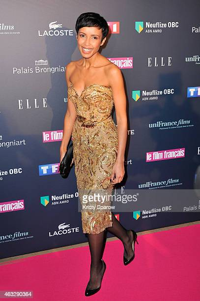 Sonia Rolland attends the 'Trophees Du Film Francais' 22nd annual ceremony at Palais Brongniart on February 12 2015 in Paris France