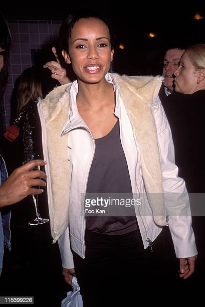 Sonia Rolland during Eddie Barclay birthday Party at Club Les Bains in Paris France