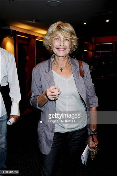 Sonia Rykiel Party In Paris On September 14Th 2006 In Paris France Here Claire Brandecher