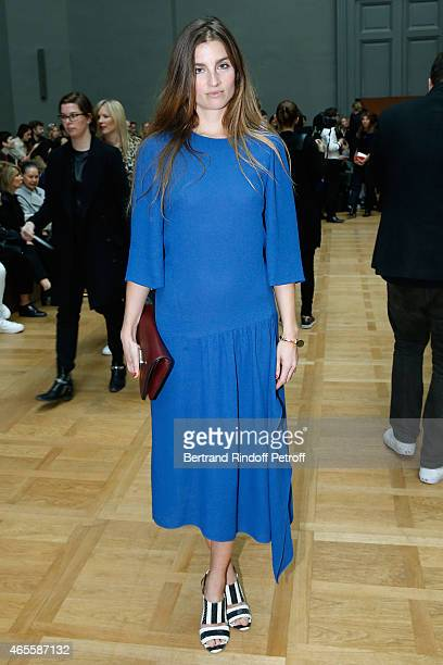 Sonia Sieff attends the Chloe show as part of the Paris Fashion Week Womenswear Fall/Winter 2015/2016 on March 8, 2015 in Paris, France.