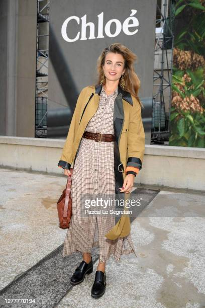 Sonia Sieff attends the Chloe Womenswear Spring/Summer 2021 show as part of Paris Fashion Week on October 01, 2020 in Paris, France.