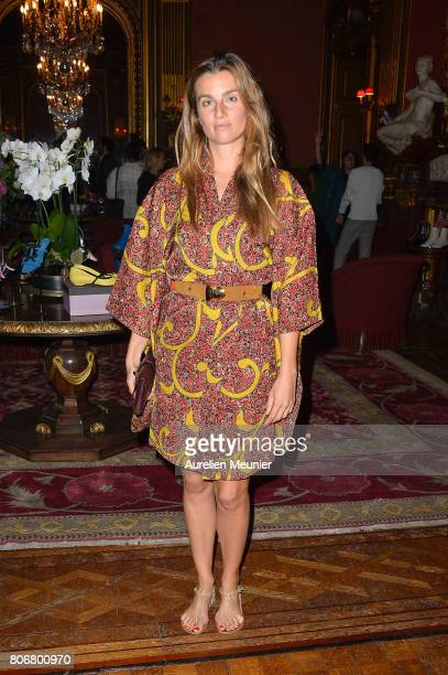 Sonia Sieff attends the dinner to celebrate the launch of Fabrizio Viti Cruise 18 Collection Back In Love Again at Hotel La Pavia on July 3 2017 in...