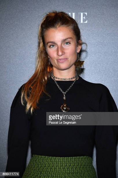 Sonia Sieff attends the Irving Penn Exhibition Private Viewing Hosted by Vogue as part of the Paris Fashion Week Womenswear Spring/Summer 2018 on...