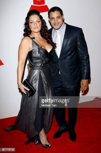 Sonia Sosa and Sammy Sosa arrive to the 2009 Latin Recording Academy Person of the Year honoring De Fiesta With Juan Gabriel held at Mandalay Bay on...
