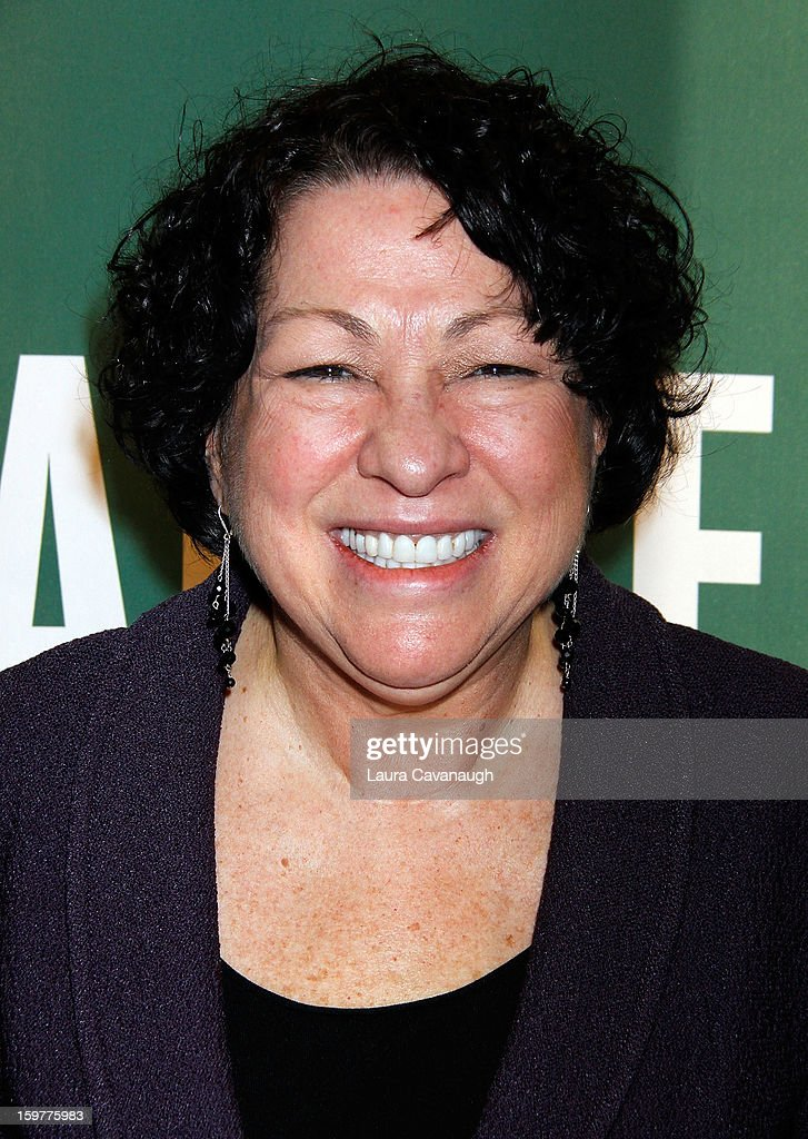 Sonia Sotomayor promotes the new book 'My Beloved World' at Barnes & Noble Union Square on January 20, 2013 in New York City.