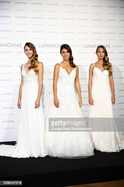Sonia Suescun presents 2019 Luna Novias new collection on September 20 2018 in Madrid Spain