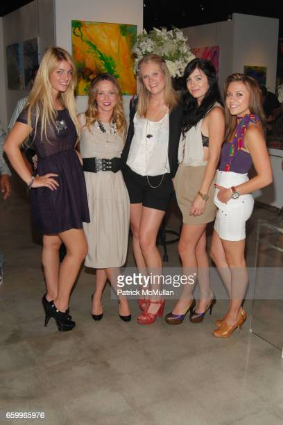 Sonia Young Holly McNally Rachel Mansfield Chandler Suggs and Yana Gordin attend GINGER MCGANN UNVEILS NEW COUTURE JEWELRY COLLECTION AND FINE ART...