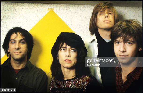 Sonic Youth Thurston Moore Kim Gordon Lee Ranaldo Steve Shelley Vooruit Gent Belgium