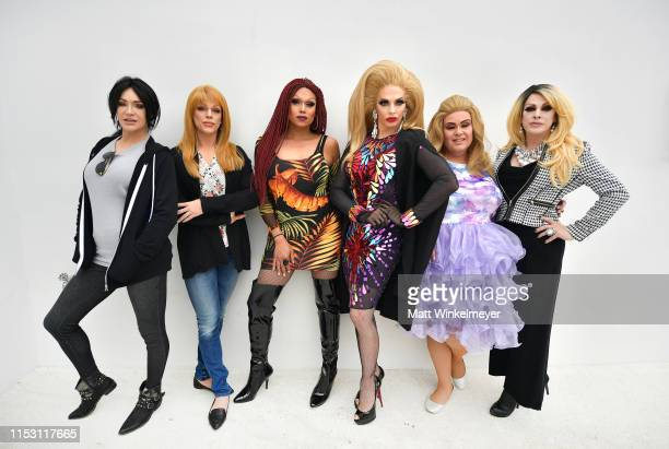 Sonique, Morgan McMichaels, Mariah Balenciaga, Alyssa Edwards, Delta Work, and Pandora Boxx celebrate HBO's Big Little Lies Season 2 at Amabella's...