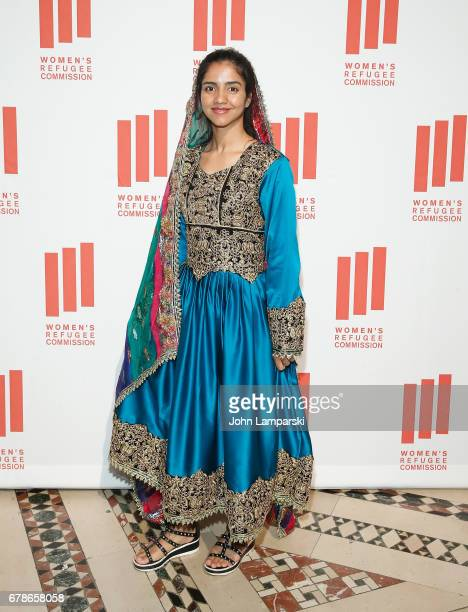 Sonita Alizadeh attends the 2017 Women's Refugee Commission Voices Of Courage Awards at Cipriani 42nd Street on May 4 2017 in New York City