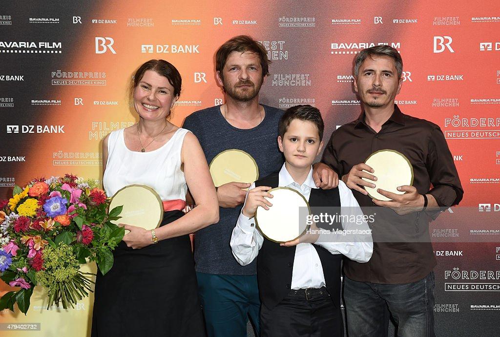 Foerderpreis HFF - Munich Film Festival 2015 : News Photo