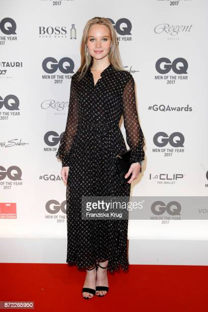 Sonja Gerhardt arrives for the GQ Men of the year Award 2017 at Komische Oper on November 9 2017 in Berlin Germany